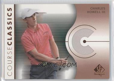 2003 SP Authentic - Course Classics Golf Shirts #CC-CH - Charles Howell III