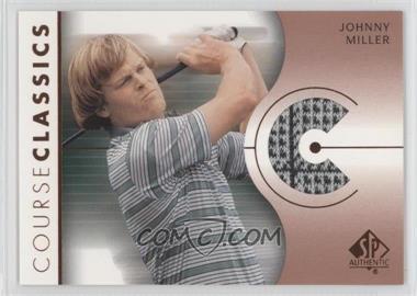 2003 SP Authentic - Course Classics Golf Shirts #CC-JM - Johnny Miller