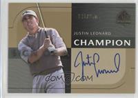 Justin Leonard #/250
