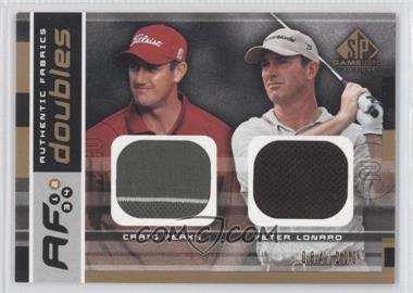 2003 SP Game Used Edition - Authentic Fabrics Doubles #AFD-CP/PL - Craig Perks, Peter Lonard /200