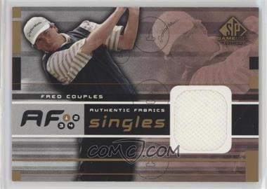 2003 SP Game Used Edition - Authentic Fabrics Singles #AF-FC - Fred Couples