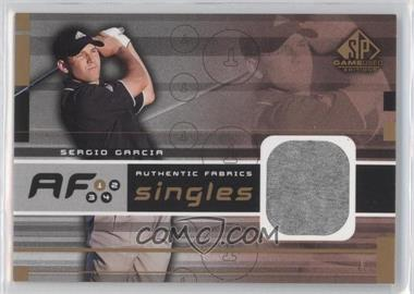 2003 SP Game Used Edition - Authentic Fabrics Singles #AF-SG - Sergio Garcia