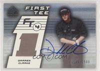 First Tee - Darren Clarke #/1,500