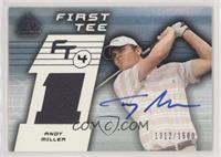 First Tee - Andy Miller [NoneEXtoNM] #/1,500