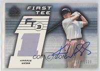 First Tee - Karrie Webb #/1,000