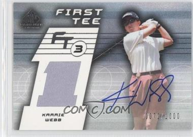 2003 SP Game Used Edition - [Base] #79 - Karrie Webb /1000