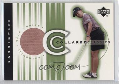 2003 Upper Deck - Collared Classics #CC-KW - Karrie Webb