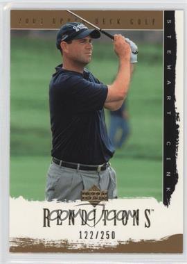 2003 Upper Deck Renditions - [Base] - Gold #29 - Stewart Cink /250