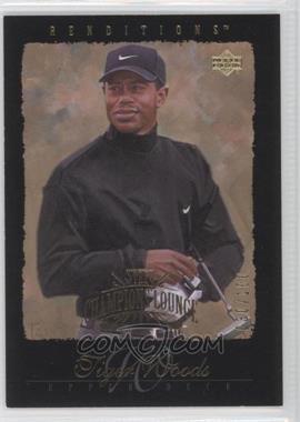 2003 Upper Deck Renditions - [Base] - Gold #83 - Tiger Woods /100