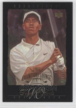 2003 Upper Deck Renditions - [Base] - Gold #99 - Tiger Woods /100