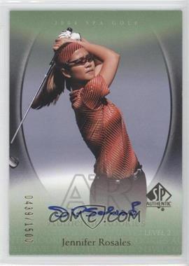 2004 SP Authentic - [Base] #103 - Jennifer Rosales /1500