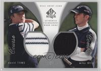 Mike Weir, David Toms /100