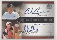 Chad Campbell, Charles Howell III #/250