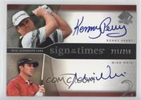 Kenny Perry, Mike Weir #/250
