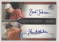 Zach Johnson, Hunter Mahan #/250