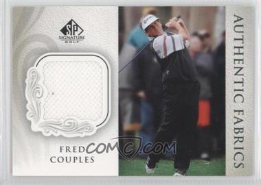 2004 SP Signature - Authentic Fabrics #AF-FC - Fred Couples