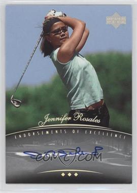 2004 SP Signature - Endorsements of Excellence #A21 - Jennifer Rosales