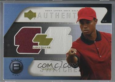2004 Upper Deck - Golf Gear - Birdie Dual #TW-GGB - Tiger Woods
