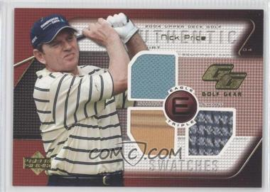 2004 Upper Deck - Golf Gear - Eagle Triple #NP-GGE - Nick Price