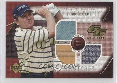 2004 Upper Deck - Golf Gear - Eagle Triple #NP-GGE - Nick Price