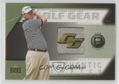 2004 Upper Deck - Golf Gear - Par Single #CC-GG - Chad Campbell