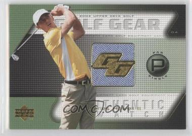 2004 Upper Deck - Golf Gear - Par Single #CH-GG - Charles Howell III