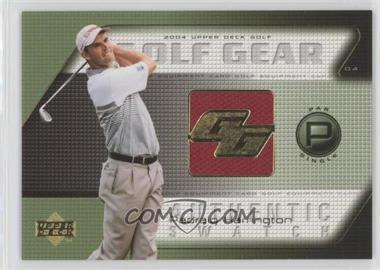 2004 Upper Deck - Golf Gear - Par Single #PH-GG - Padraig Harrington