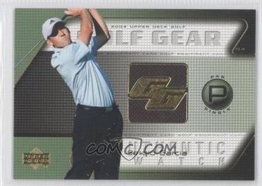 2004 Upper Deck - Golf Gear - Par Single #SG-GG - Sergio Garcia