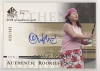 Authentic Rookies - Christina Kim #/999