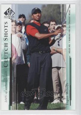 2005 SP Authentic - [Base] #58 - Tiger Woods