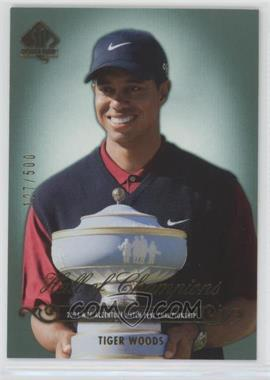2005 SP Authentic - [Base] #88 - Tiger Woods /500