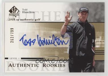 2005 SP Authentic - [Base] #96 - Todd Hamilton /799