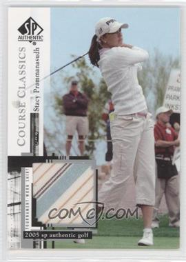 2005 SP Authentic - Course Classics Golf Shirts #CC12 - Stacy Prammanasudh