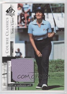 2005 SP Authentic - Course Classics Golf Shirts #CC3 - Nancy Lopez