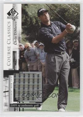 2005 SP Authentic - Course Classics Golf Shirts #CC9 - Chris DiMarco