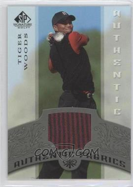 2005 SP Signature - Authentic Fabrics #AF-TW - Tiger Woods