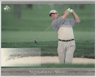 2005 SP Signature - Signature Shots #RG - Retief Goosen