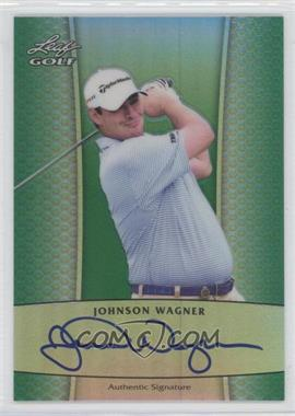 2012 Leaf Metal - Autographs - Green Prismatic #BA-1 - Johnson Wagner /25
