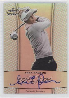 2012 Leaf Metal - Autographs - Prismatic #BA-AR1 - Anna Rawson /99