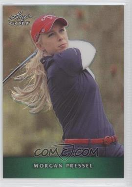 2012 Leaf Metal - [Base] - Green Prismatic #M-MP1 - Morgan Pressel /25