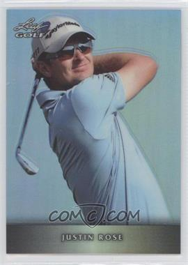 2012 Leaf Metal - [Base] - Prismatic #M-JR1 - Justin Rose /99