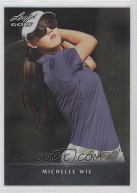 2012 Leaf Metal - [Base] #M-1 - Michelle Wie
