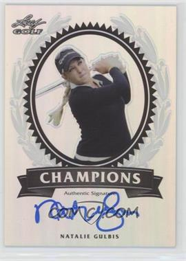 2012 Leaf Metal - Champions #CH-NG1 - Natalie Gulbis /50
