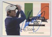 Matteo Manassero #/50