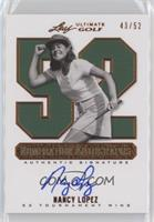 Nancy Lopez /52