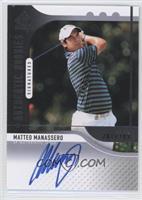 Authentic Rookies Signatures - Matteo Manassero #/299