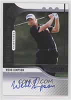 Authentic Rookies Signatures - Webb Simpson #/299