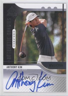 2012 SP Authentic - [Base] #119 - Anthony Kim /299