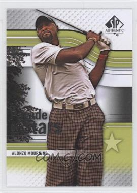 2012 SP Authentic - [Base] #55 - Alonzo Mourning