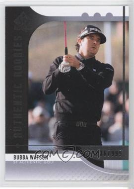 2012 SP Authentic - [Base] #81 - Bubba Watson /999
